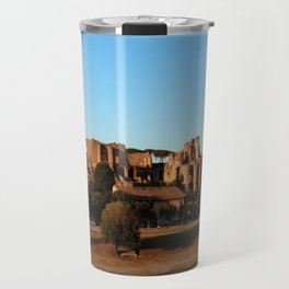 Roman ruin in Rome photography Travel Mug