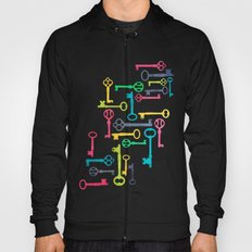 Colorful Vintage Keys Hoody