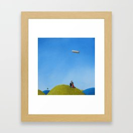 hoping for change Framed Art Print