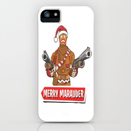Merry Marauder looking festive iPhone Case