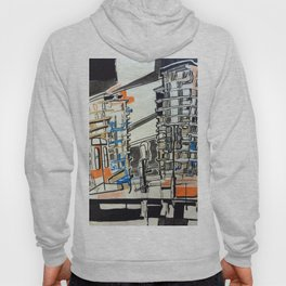 London From A Train Hoody