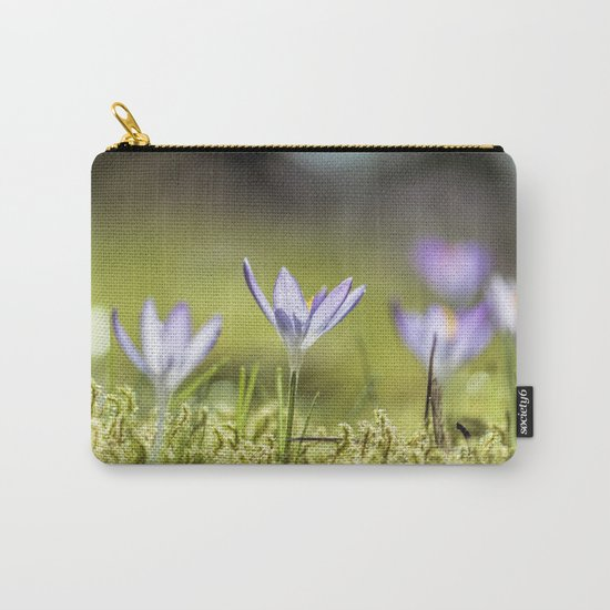 Crocus meadow Carry-All Pouch