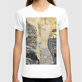12,000pixel-500dpi - Gustav Klimt - The Hydra - Digital Remastered Edition T-shirt
