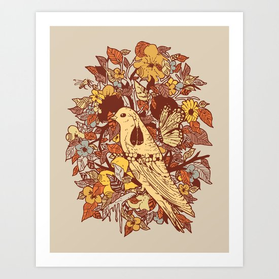 Strange and Beautiful Art Print