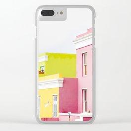 Bo Kaap Main Street Clear iPhone Case
