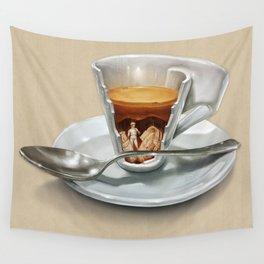 Italian coffee 2.0 Wall Tapestry