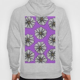 Please Don't Eat the Daisies Violet Hoody