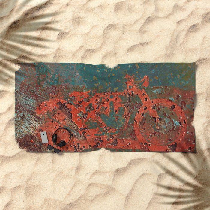 Corrosive Speed Beach Towel