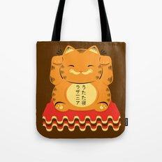 Lucky Garfield Tote Bag