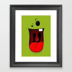 Faces V1 Framed Art Print