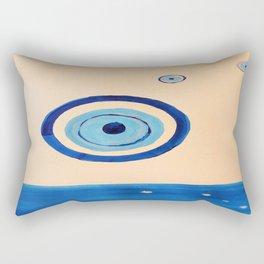 the ocean eye Rectangular Pillow