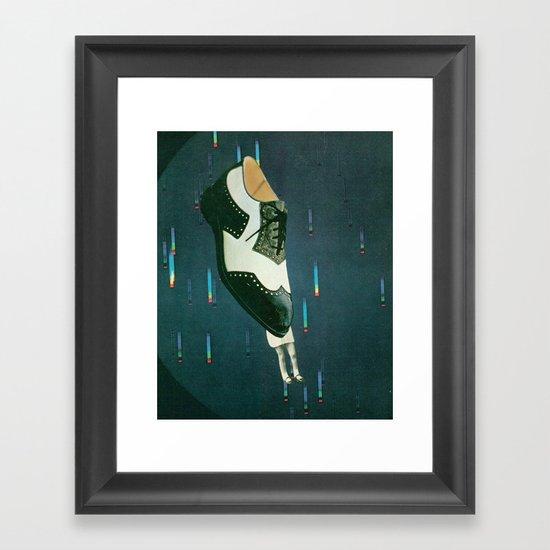 goofbutton collaboration #1b Framed Art Print