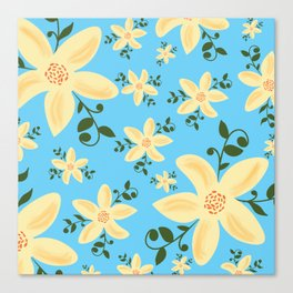 Springy Flowers Canvas Print