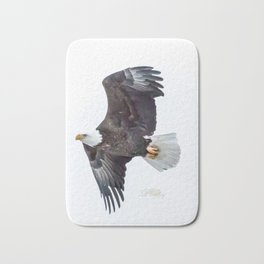 Eagle soaring Bath Mat