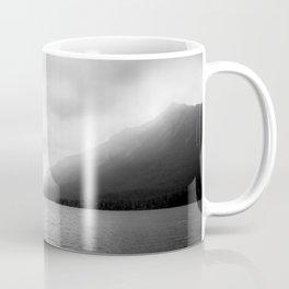Landscape Photography | Waterton Lake | Alberta | Foggy | Clouds | Sky  Coffee Mug