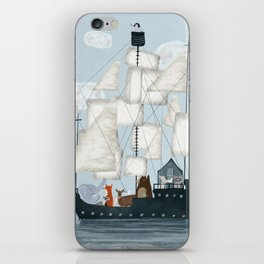 a nautical adventure iPhone Skin