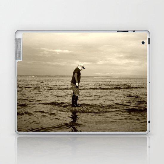 A Boy and The Sea Laptop & iPad Skin
