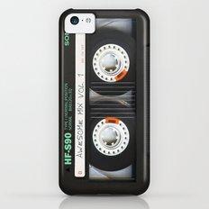 cassette classic mix iPhone 5c Slim Case