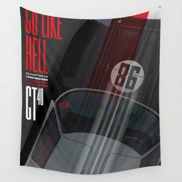 Go like Hell GT40 Miles Daytona 1966 Wall Tapestry