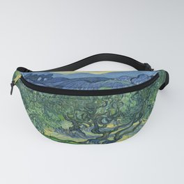 The Olive Trees by Vincent van Gogh Fanny Pack