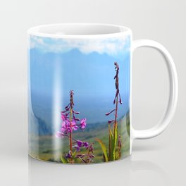 Fireweed Overlooking Mat-Su Valley, Alaska Coffee Mug