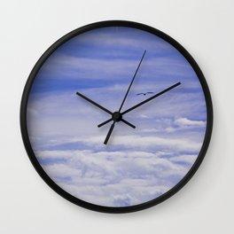 Cloudy Heaven Wall Clock