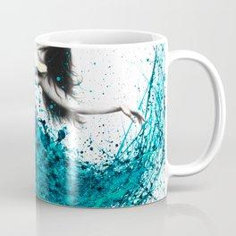 Teal Dancer Coffee Mug