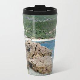 Arrabida beach, Portugal Travel Mug