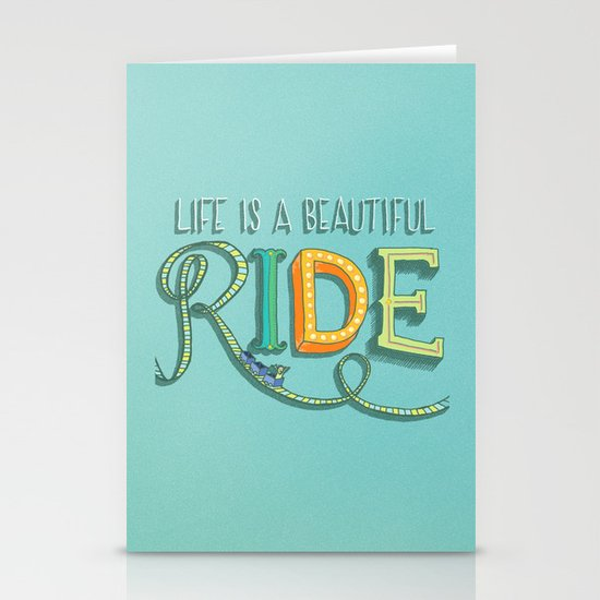 Beautiful Ride Stationery Cards