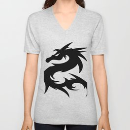 Dragon Art | HD Design Unisex V-Neck