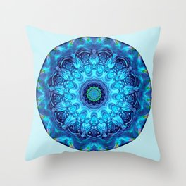 Mandalas from the Heart of Surrender 5 Throw Pillow