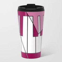 Music Pink 2 Travel Mug