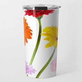 Colorful gerbera daisies Travel Mug