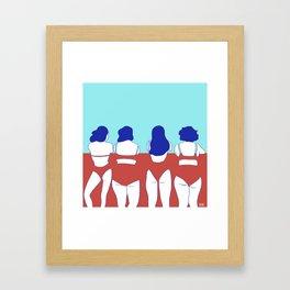 ALL BEAUTY Framed Art Print