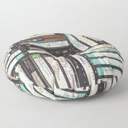 Cassettes Floor Pillow