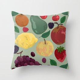 Fruity #5 Throw Pillow