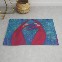 Hexentanz / Dance of the Witches, Surreal Fantasy Rug