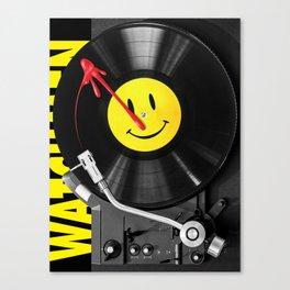 """""""Bloody Turntable"""" Watchmen fan art Canvas Print"""