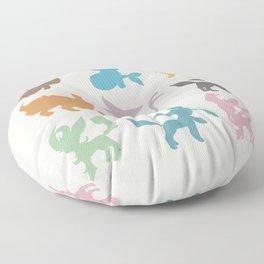 Eeveelution Floor Pillow