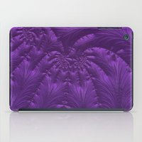 renaissance iPad Cases featuring Renaissance Purple by Charma Rose