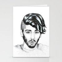 zayn Stationery Cards featuring Zayn by wreckthisjessy