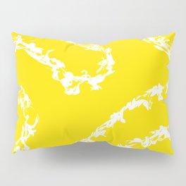 Yellow Abstract Pillow Sham
