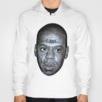 jay z Hoodies featuring JAY-Z by Jahwan by JAHWAN