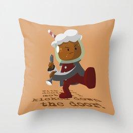 Root Beer Guy  Throw Pillow