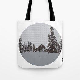 cabin love Tote Bag