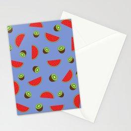 Kiwi Watermelon Stationery Cards