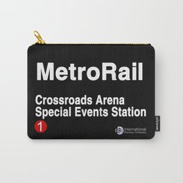 Crossroads Arena Special Events Station Carry-All Pouch