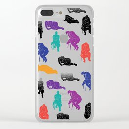 Figures Clear iPhone Case
