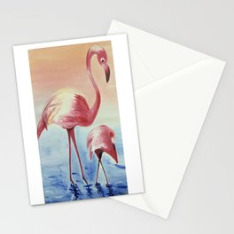 FLAMINGOS Stationery Cards