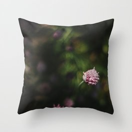 Chive Experience Throw Pillow